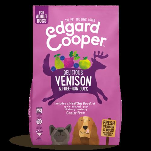 EDGARD EN COOPER Edgard & Cooper dog chunk deer