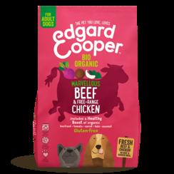 Edgard & Cooper dog chunk organic beef
