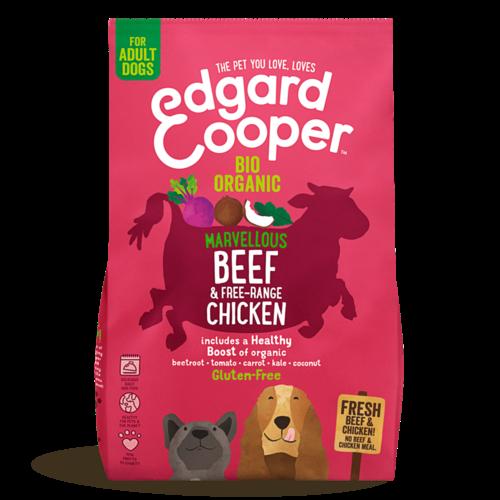 EDGARD EN COOPER Edgard & Cooper dog chunk organic beef