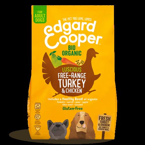 EDGARD EN COOPER Edgard & Cooper dog chunk organic turkey