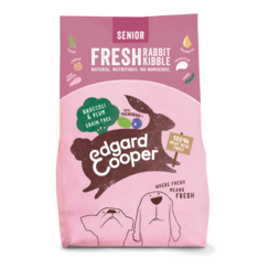 Edgard & Cooper Hundestückchen sen Kaninchen/Pflaume/Brokkoli