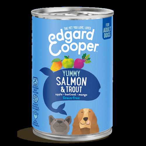 EDGARD EN COOPER Edgard & Cooper hond blik vis 400 gr