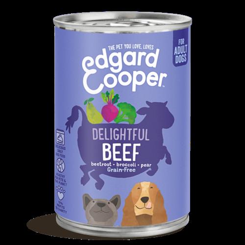 EDGARD EN COOPER Edgard & Cooper hond blik rund 400 gr