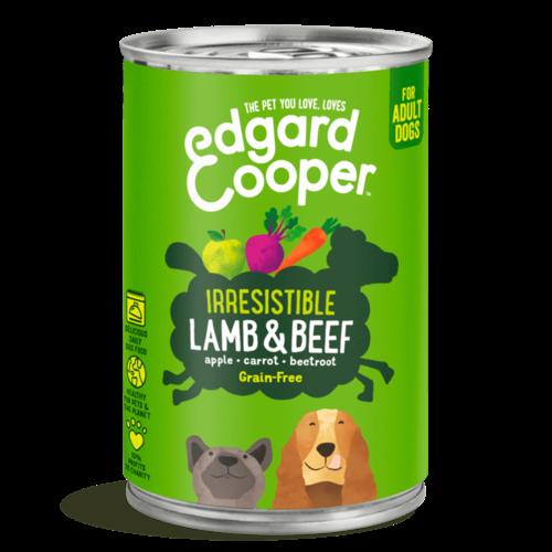 EDGARD EN COOPER Edgard & Cooper hond blik lam 400 gr