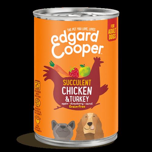 EDGARD EN COOPER Edgard & Cooper hond blik kip 400 gr