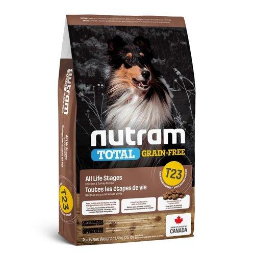 NUTRAM GF Turkey&ChickDog T23 11,4kg