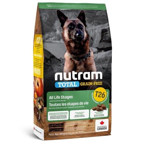 NUTRAM GF Lamb&Lentils Dog T26 2kg