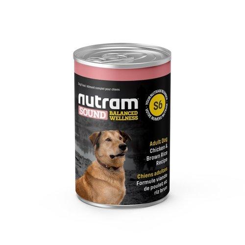NUTRAM Dose Erwachsene Hund DF S6 369gr