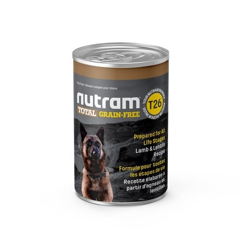 NUTRAM Blik GF Lamb&Leg DF T26 369gr