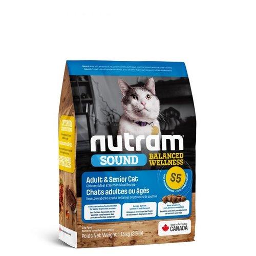 NUTRAM Adult/Senior Cat S5 1,13kg