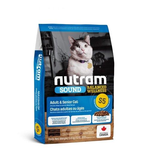 NUTRAM Adult/Senior Cat S5 5.4kg