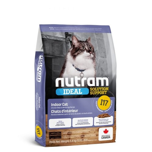 NUTRAM Indoor Shedding Cat I17 5,4kg