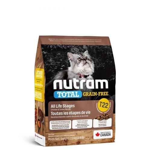 NUTRAM GF Turkey&Chick Cat T22 1,13kg