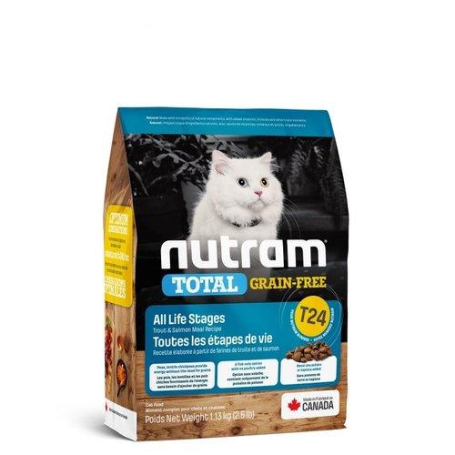 NUTRAM GF Lachs&Forelle Katze T24 1,13kg