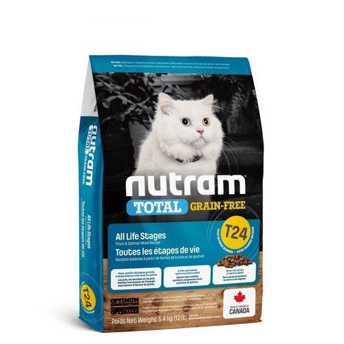 NUTRAM GF Salmon&Trout Cat T24 5,4kg
