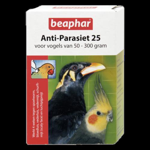 Beaphar Anti-Parasiten 25 Vogel 50-300g