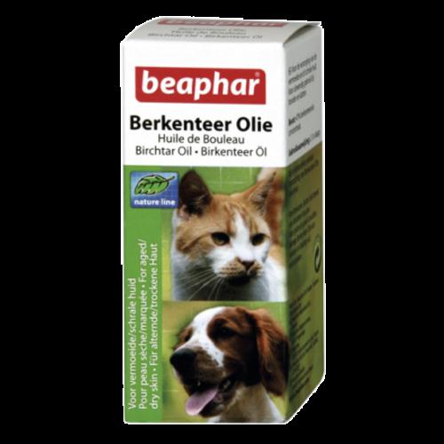 Beaphar Berkenteerolie (schrale huid) hond/kat