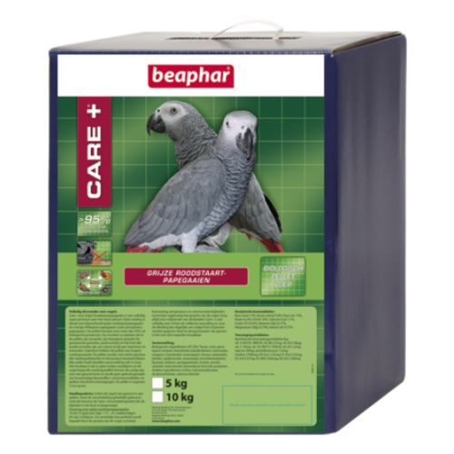 Beaphar Care+ Grijze Roodstaart 5x1kg
