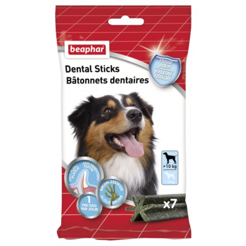 Beaphar Dental Sticks middel / grote hond