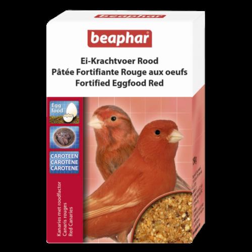 Beaphar Ei-Krachtvoer kanarie & trop.vogels roodfactor 150g