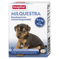 Milquestra Hund klein / Welpe (0,5 - 10kg)
