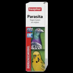 Parasita (luis/mijt) vogel