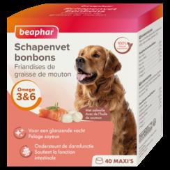 Schapenvet Bonbons Zalm maxi (hondensnack)
