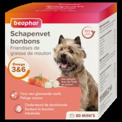 Schafsfett-Lachs-Minis (Hundesnack)