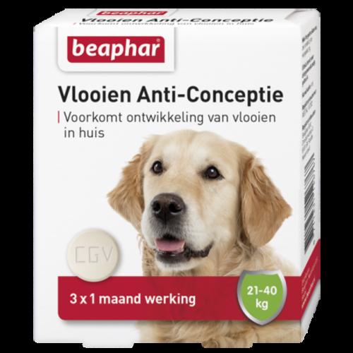 Beaphar Vlooien Anti Conceptie hond groot (21 - 40kg) 3st