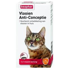 Flöhe Anti Conception Katze klein (bis zu 4,5kg) 3st