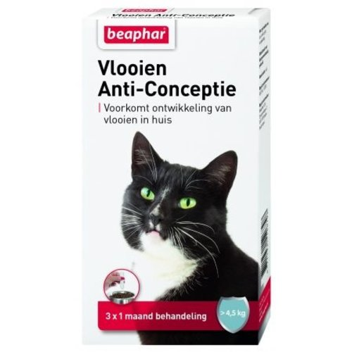 Beaphar Fleas Anti Conception cat large (4.5 - 9 kg) 3st