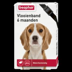 Flea collar 6mnd dog black