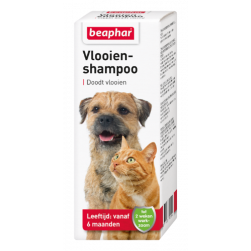 Beaphar Flea shampoo dog/cat 100ml