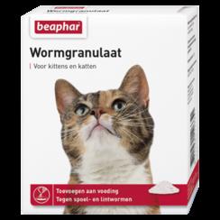 Wurmgranulat Katze 4x 1g