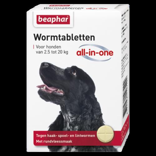 Beaphar Wormmiddel All-in-One hond (2,5 - 20kg) 2st