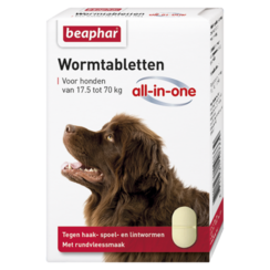 Wormmiddel All-in-One hond (17,5 - 70kg) 2st