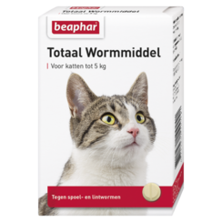 Worming agent Total cat 10st