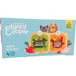 Edgard & Cooper Mighty Multipack  (4x 300 gram cups)