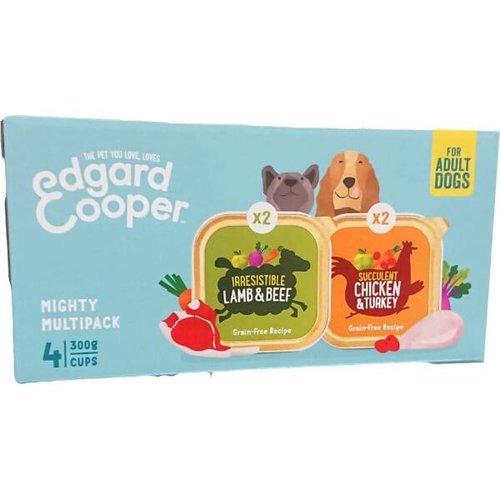 EDGARD EN COOPER Edgard & Cooper Mighty Multipack (4x 300 gram cups)