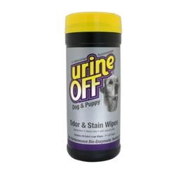 Urine Off Geur- en vlekdoekjes voor honden en puppy's