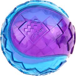 SQUEAKER BALL Red/Purple-L 7cm