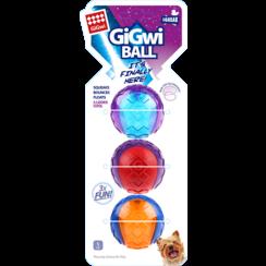 SQUEAKER BALL Sortiment 3er-Pack-S 5cm