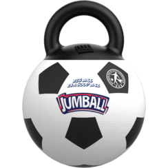 JUMBALL Voetbal Wit/Zwart-Ø20cm