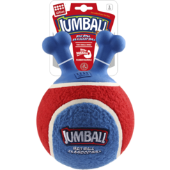 JUMBALL Tennisbal Rood/Blauw 14cm