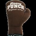 Heavy punch  HEAVY PUNCH Boxhandschuh Braun-S/M 17cm