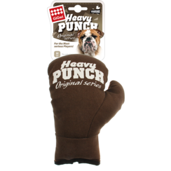 HEAVY PUNCH Boxing Glove Brown-S/M 17cm