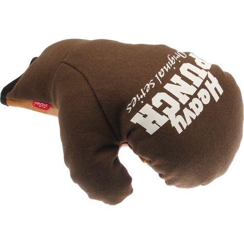 Heavy punch  HEAVY PUNCH Boxing Glove Brown-S/M 17cm