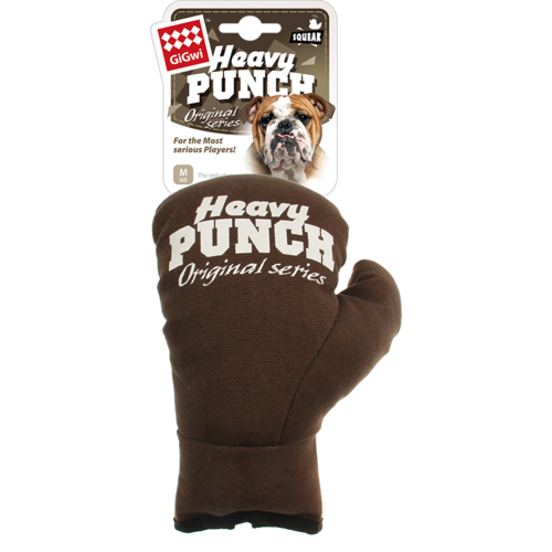 Heavy punch  HEAVY PUNCH Boxing Glove Brown-L 33cm
