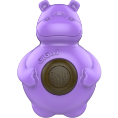 BELLY BITES Hippo Purple-S 9,5cm