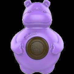 BELLY BITES Nijlpaard Paars-S 9,5cm